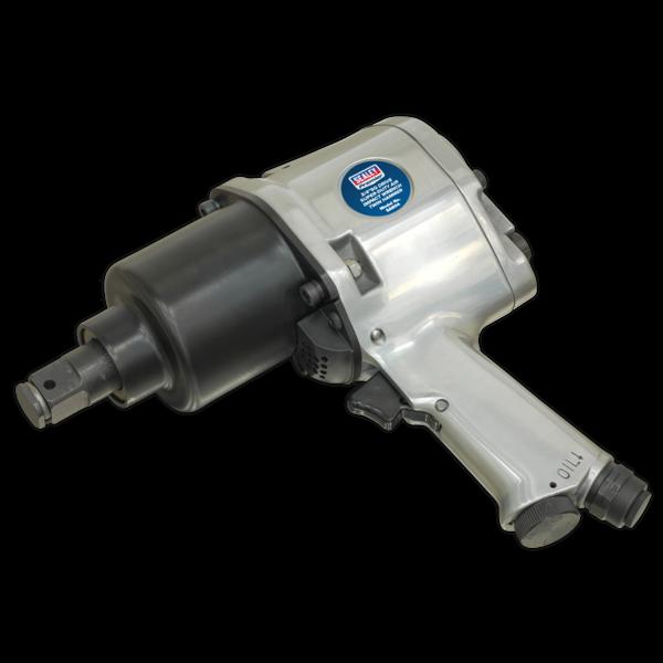 "Sealey SA604 Air Impact Wrench 3/4""Sq Drive Super-Duty Heavy Twin Hammer Thumbnail 3"