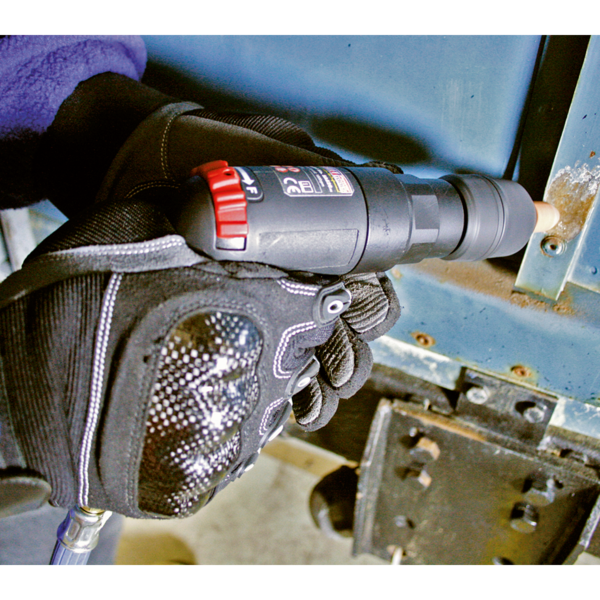 Sealey SA620 Air Pistol Drill Ø10mm with Keyless Chuck Composite Premier Thumbnail 3
