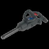 """Sealey SA686 Air Impact Wrench 1"""" Sq Drive Twin Hammer Compact"""