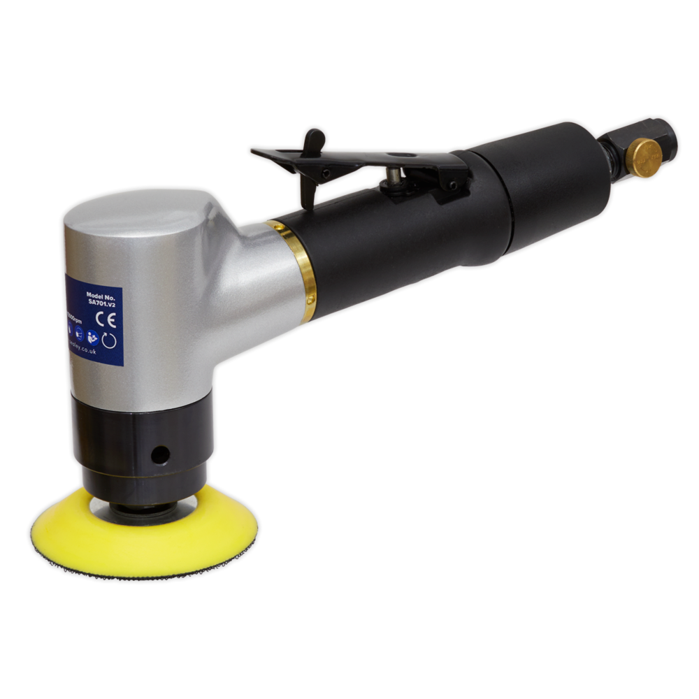 Sealey SA701 Air Angle Sander Ø75mm Orbital Premier