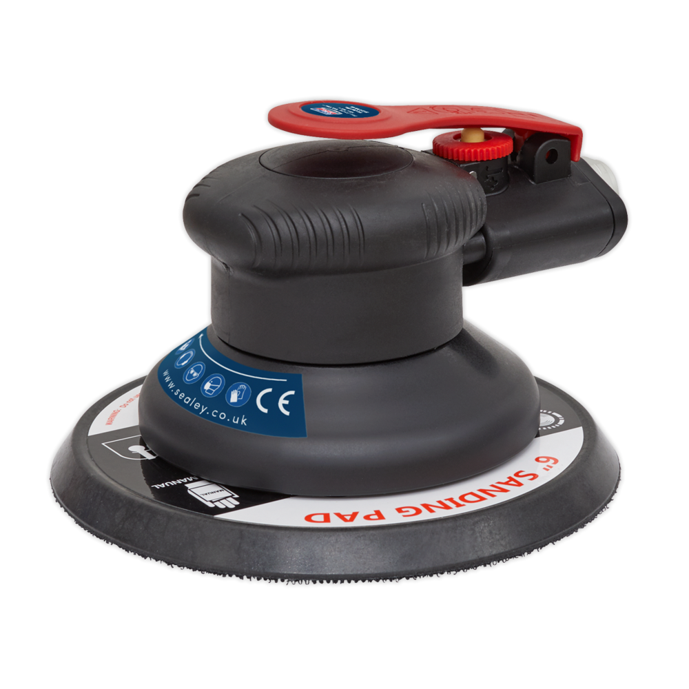 Sealey SA800 Air Palm Orbital Sander 150mm
