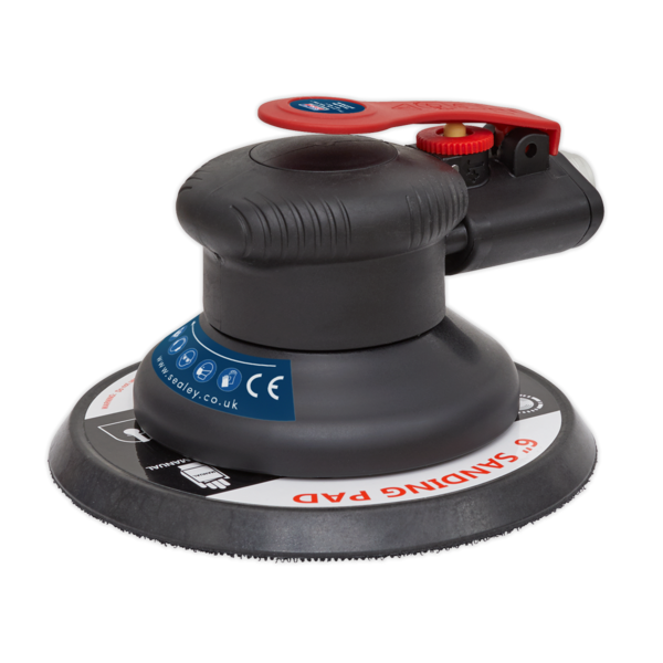 Sealey SA800 Air Palm Orbital Sander 150mm Thumbnail 1