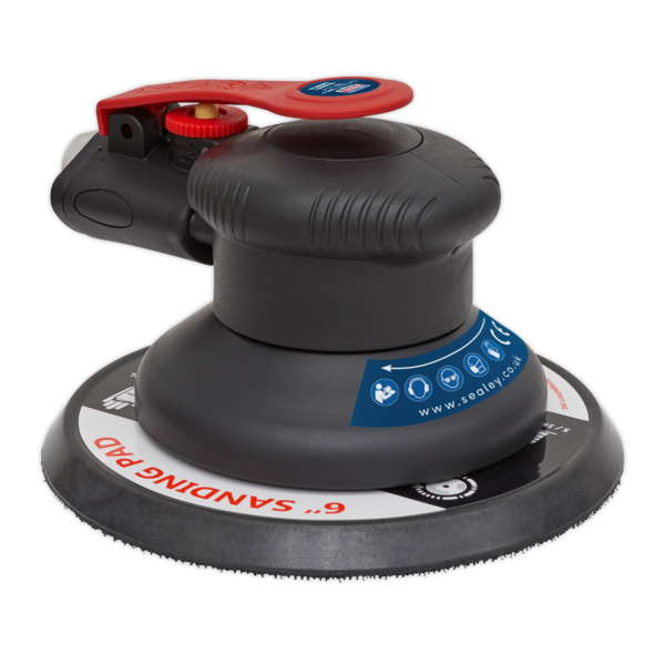Sealey SA800 Air Palm Orbital Sander 150mm Thumbnail 3