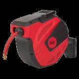 Sealey Auto Rewind Control Air Hose Reel 15mtr 10mm Dia. ID Rubber Hose