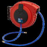 Sealey Retractable Air Hose Reel HD Mechanism 10M 10mm Dia. ID Polyurethane Hose