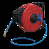 Sealey SA90 Retractable Air Hose Reel 12mtr 8mm Dia. ID TPU Hose
