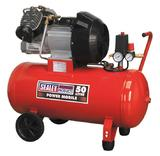 Sealey SAC05030 Air Compressor 50L Direct Drive 3hp