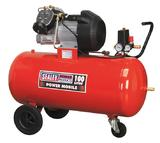 Sealey SAC10030 Air Compressor 100L V-Twin Direct Drive 3hp