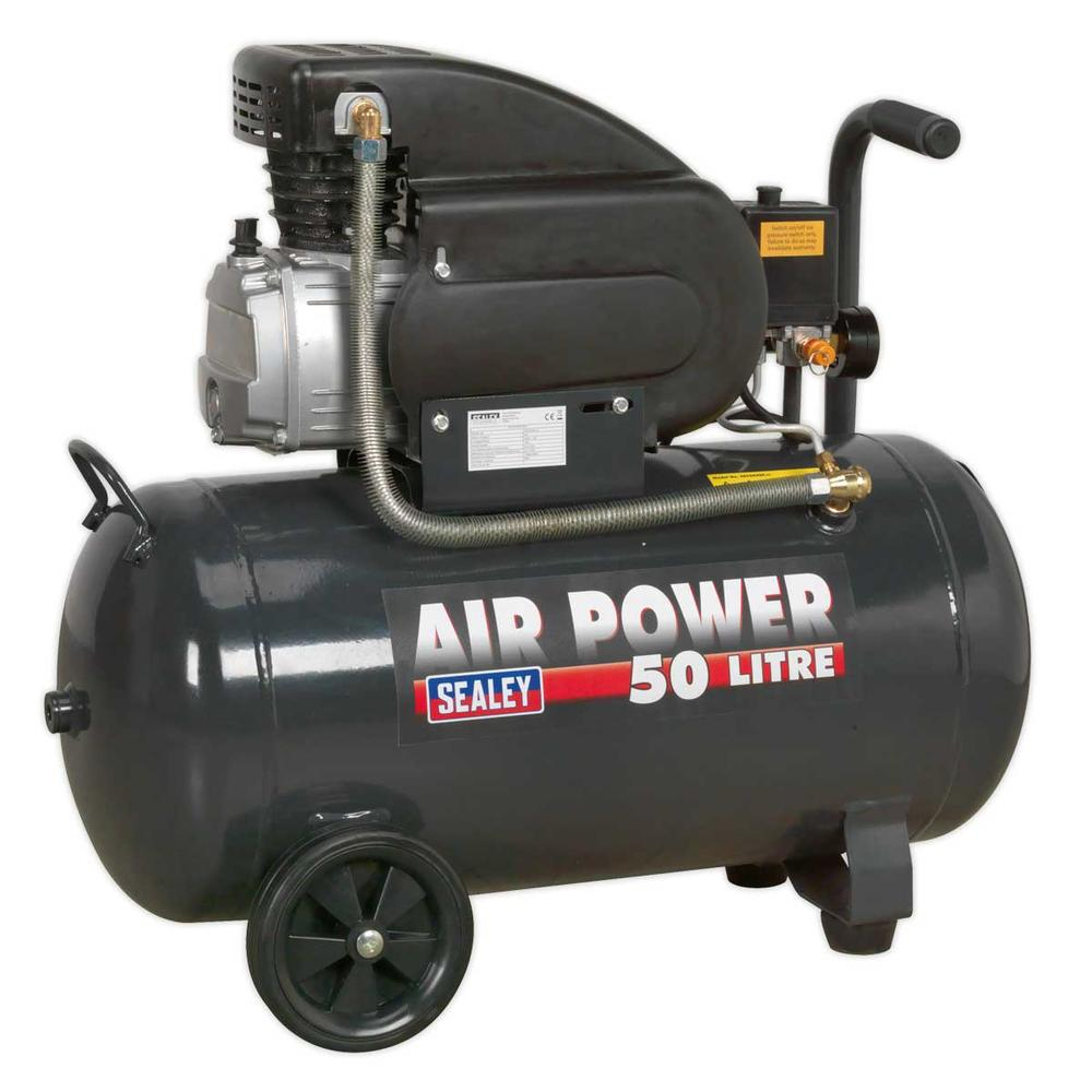 Sealey SAC5020E Compressor 50L Direct Drive 2hp