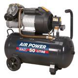 Sealey SAC5030VE Compressor V-Twin 50ltr Direct Drive 3hp116psi (8bar) 230V
