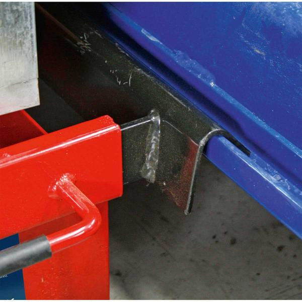 Sealey SJBEX200 Jacking Beam 2 Tonne with Arm Extenders & Flat Roller Supports Thumbnail 4