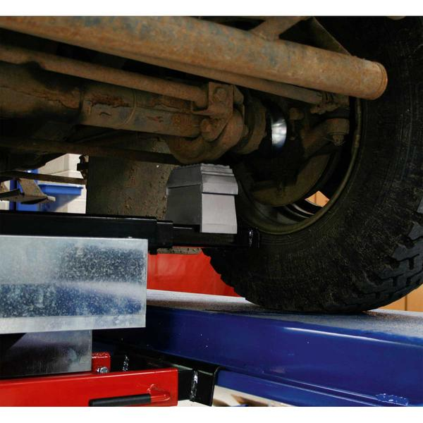 Sealey SJBEX200 Jacking Beam 2 Tonne with Arm Extenders & Flat Roller Supports Thumbnail 2