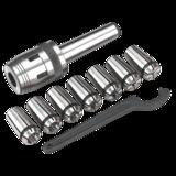 Sealey Mill Chuck Set MT3-M12 Ø4-16mm for SM2502 Mini Drill/Milling Machine