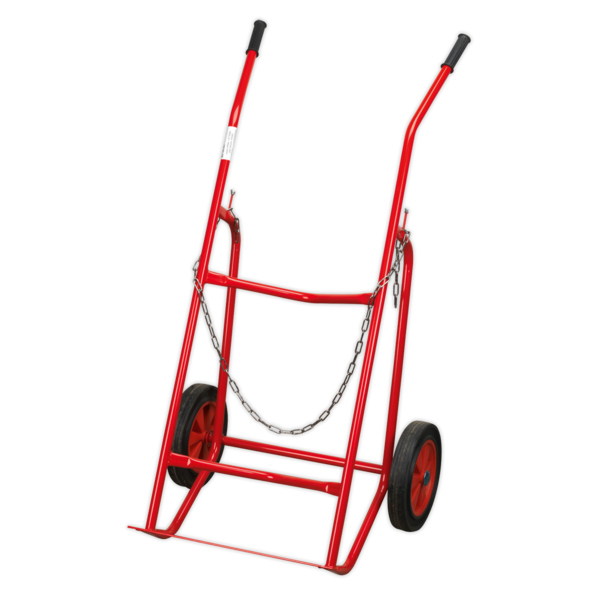 Sealey ST30 Drum Handling Trolley 48gal/205ltr  Thumbnail 2