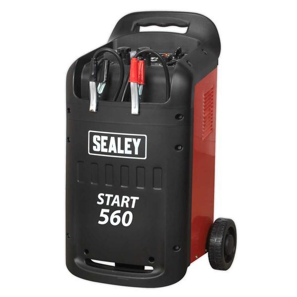 Sealey START560 Starter/Charger 560/90Amp 12/24V 230V Thumbnail 2