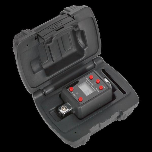 "Sealey Torque Adaptor Digital 1/2""Sq Drive 40-200Nm Large LCD display with Alarm Thumbnail 2"
