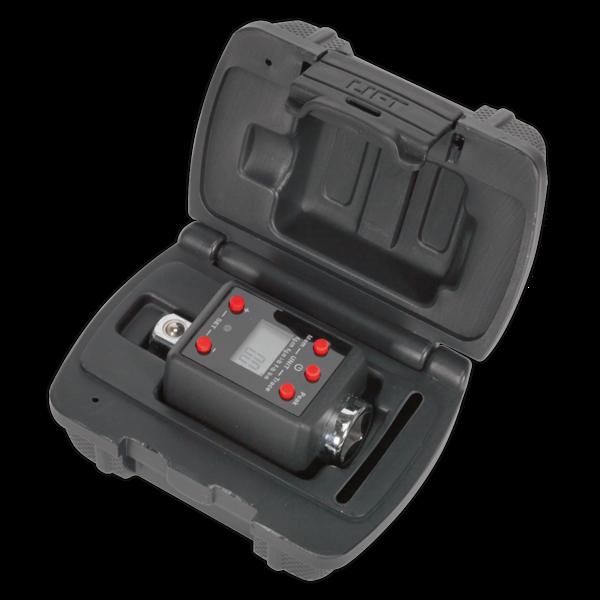 "Sealey Torque Adaptor Digital 1/2""Sq Drive 40-200Nm Large LCD display with Alarm Thumbnail 3"