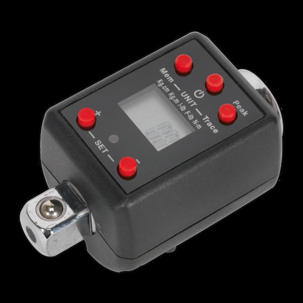 "Sealey Torque Adaptor Digital 1/2""Sq Drive 40-200Nm Large LCD display with Alarm Thumbnail 4"