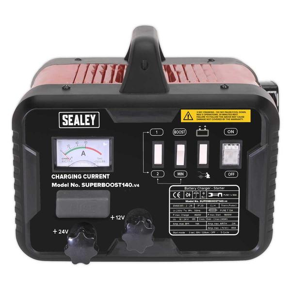 Sealey SUPERBOOST140 Starter/Charger 140/21Amp 12/24V 230V Thumbnail 2