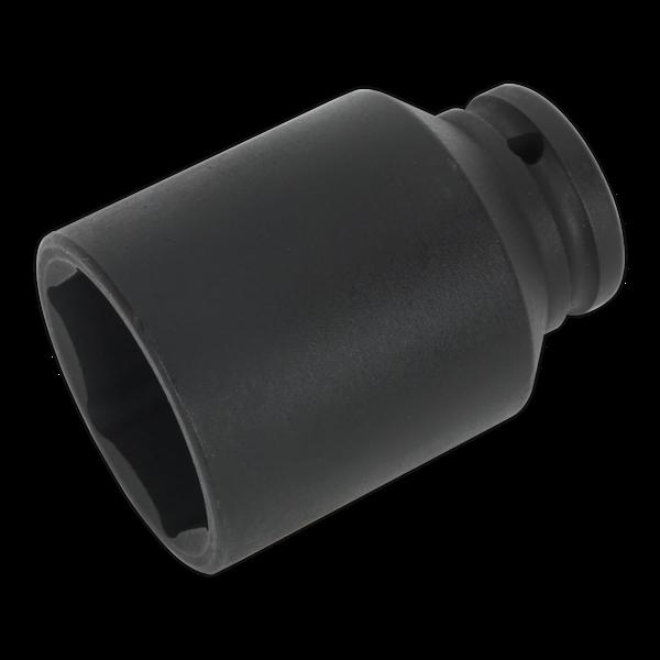 "Sealey 41mm Deep Drive Impact Driver Socket 1/2"" Sq. Drive Hex Hub Nut SX007 Thumbnail 1"
