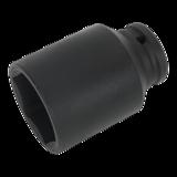 """Sealey 41mm Deep Drive Impact Driver Socket 1/2"""" Sq. Drive Hex Hub Nut SX007"""