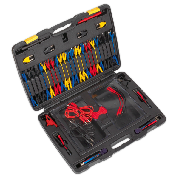 Sealey TA111 Test Lead Kit 90pc  Thumbnail 1