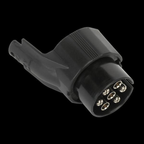 Sealey TB43 Socket Conversion Adaptor 7-Pin N-Type - 13-Pin Euro 12V Thumbnail 1