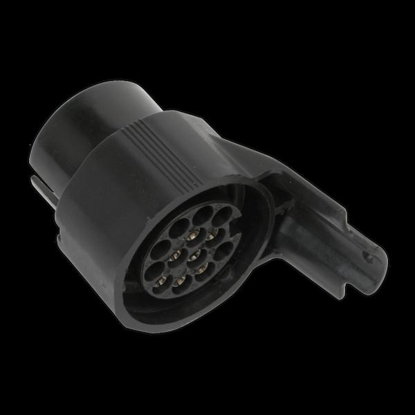 Sealey TB43 Socket Conversion Adaptor 7-Pin N-Type - 13-Pin Euro 12V Thumbnail 2