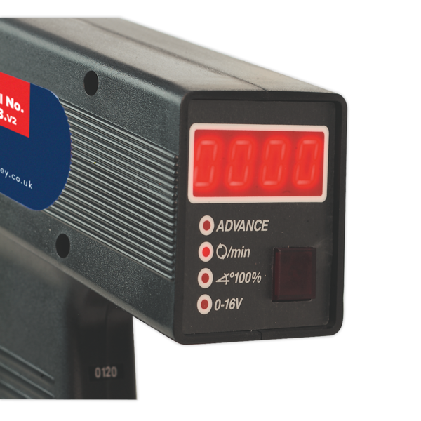 Sealey TL93 Timing Light Digital Tach/Dwell/Advance/Volt Thumbnail 2