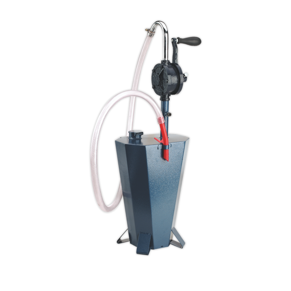 Sealey TP70 Gear Oil Pump with 10.5ltr Steel Reservoir  Thumbnail 1