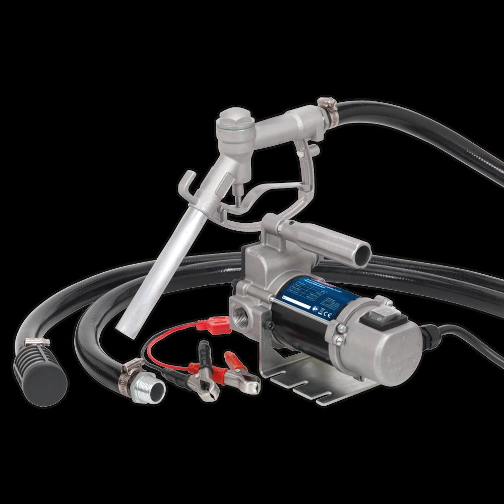 Sealey TP9624 Diesel/Fluid Transfer Pump Portable 24V