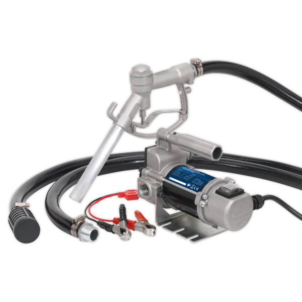 Sealey TP9624 Diesel/Fluid Transfer Pump Portable 24V  Thumbnail 1