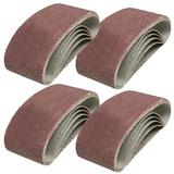 4 Packs X 5 Sanding Belts Assorted Grades 75mm X 533mm