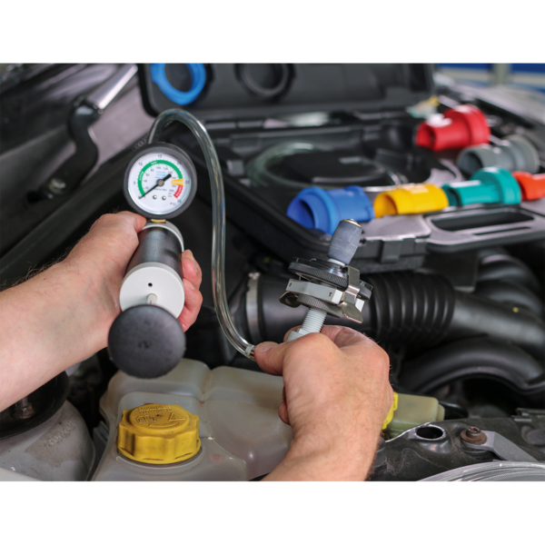 Sealey VS0031 Cooling System & Cap Testing Kit  Thumbnail 7