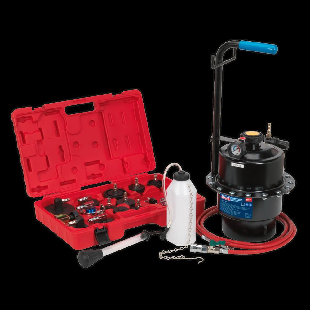 Sealey VS0204 Pneumatic Brake & Clutch Pressure Bleeder Kit