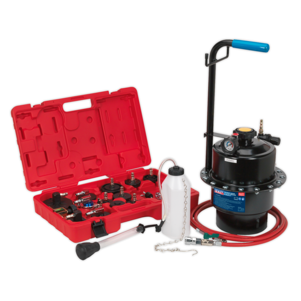 Sealey VS0204 Pneumatic Brake & Clutch Pressure Bleeder Kit Thumbnail 1