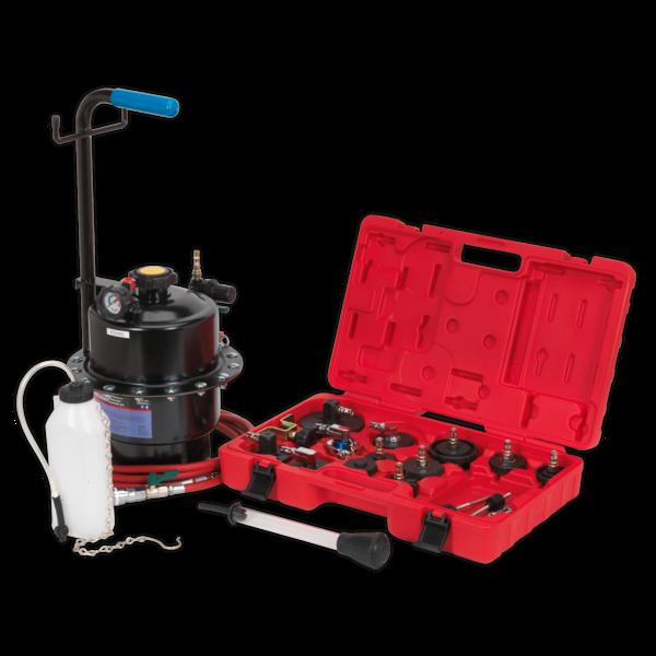 Sealey VS0204 Pneumatic Brake & Clutch Pressure Bleeder Kit Thumbnail 2