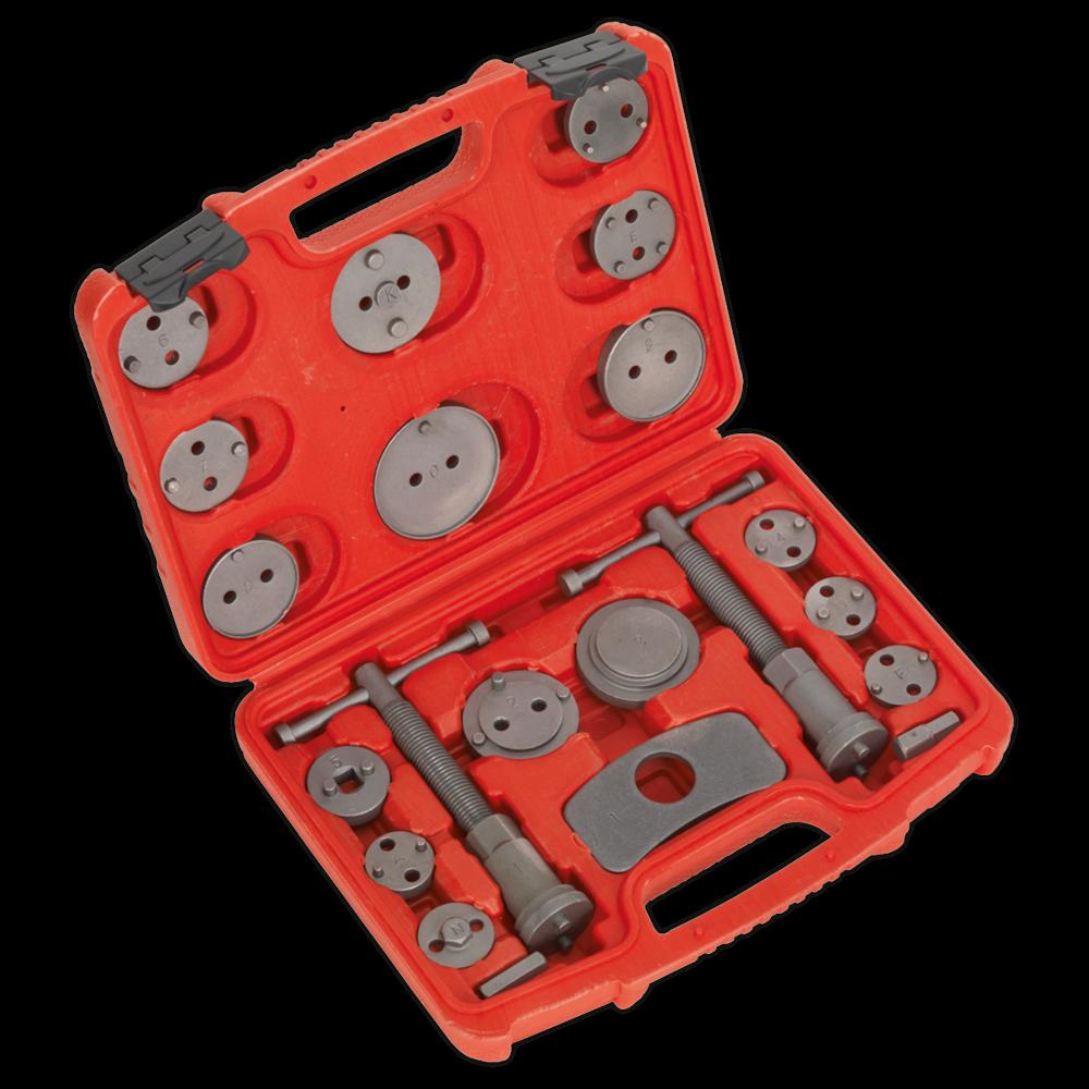Sealey VS0282 Brake Piston Wind-Back Tool Kit