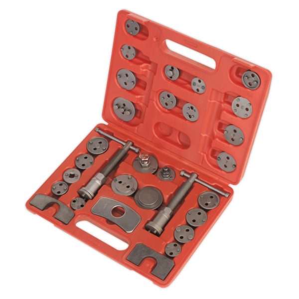 Sealey VS0285 Brake Piston Wind-Back Tool Kit 30pc Thumbnail 2