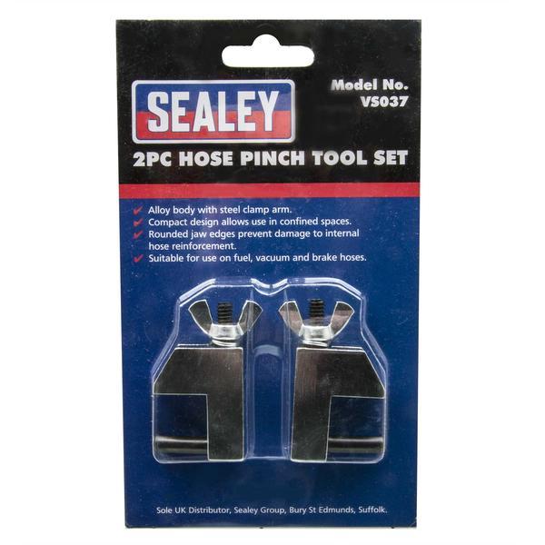 Sealey VS037 Hose Pinch Tool Set (2 Piece) Thumbnail 2