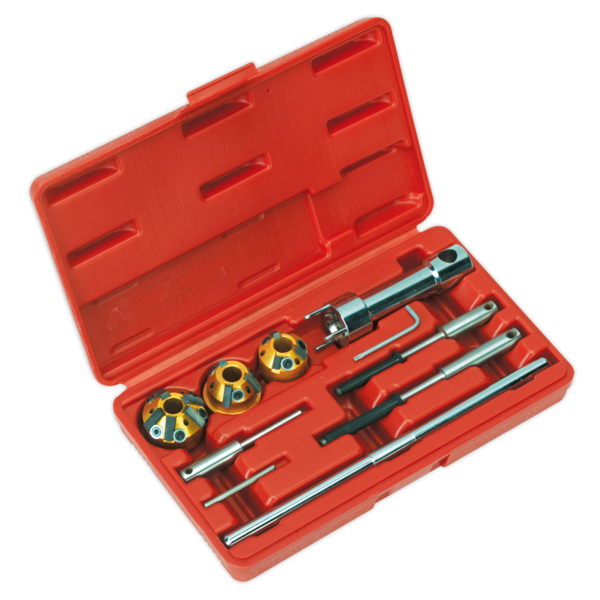 Sealey VS1823 Valve Seat Cutter Set 10pc Thumbnail 1