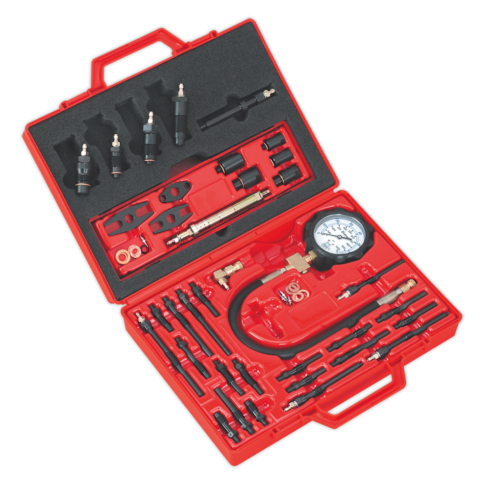 Sealey VS2044 Diesel Engine Compression Tool Kit Master