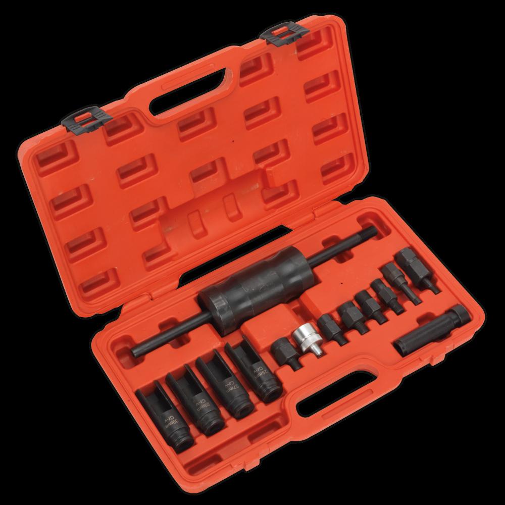 Sealey VS2059 Diesel Injector Puller Set 14pc