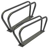 2 x Wall Mounted Upright Cycle Parking Stands