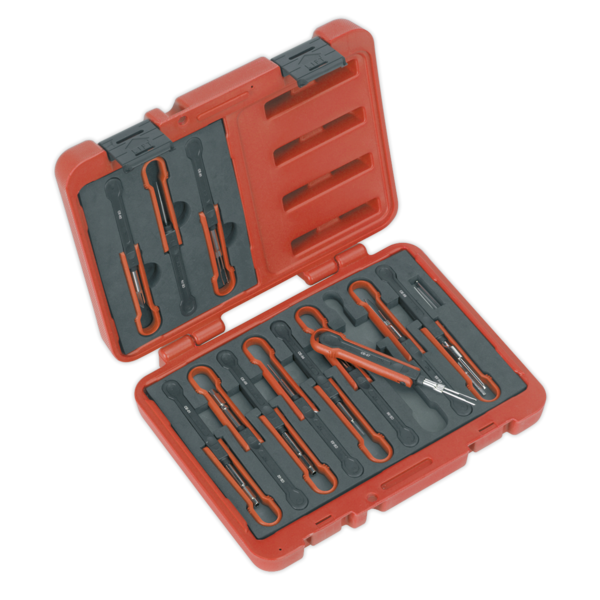 Sealey VS9201 Universal Cable Ejection Tool Set 15pc Thumbnail 1