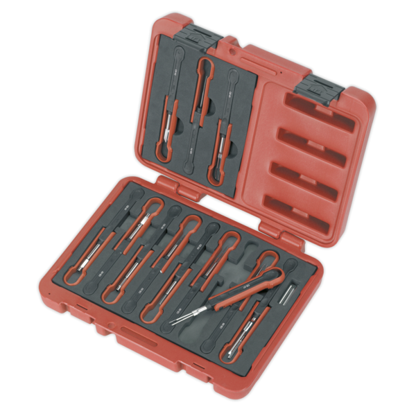 Sealey VS9201 Universal Cable Ejection Tool Set 15pc Thumbnail 2