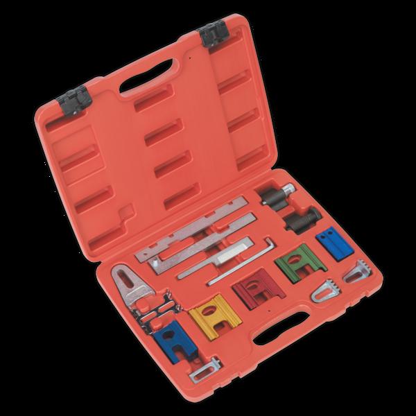 Sealey VSE180 Diesel & Petrol Engine Timing Tool Kit 16pc Thumbnail 1