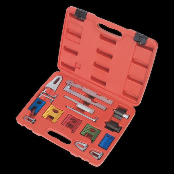 Sealey VSE180 Diesel & Petrol Engine Timing Tool Kit 16pc Thumbnail 2