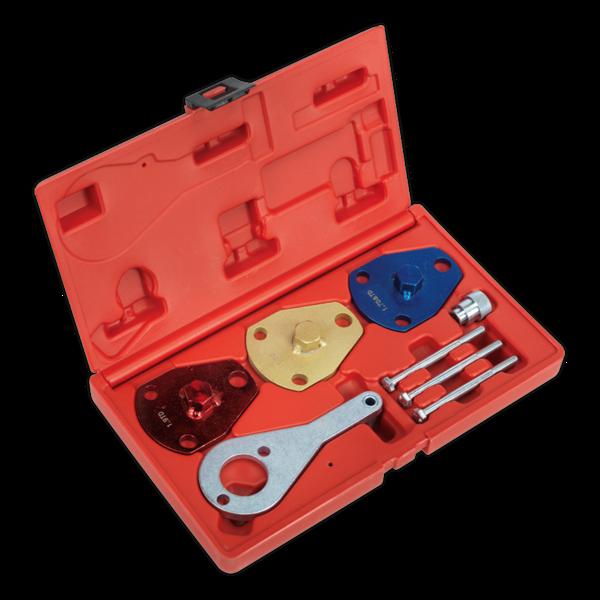 Sealey VSE2512 Diesel Engine Timing Tool Kit Alfa Fiat 1.7D/DT 1.9D/DT BeltDrive Thumbnail 1