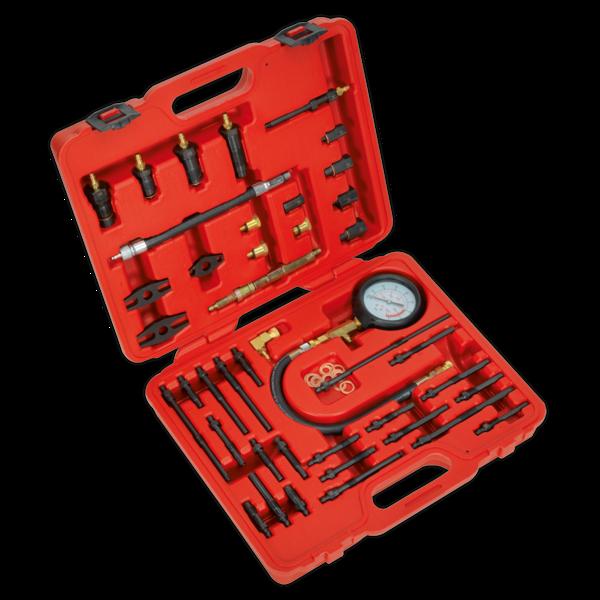 Sealey VSE3155 Petrol & Diesel - Master Compression Test Kit  Thumbnail 1